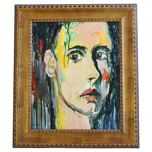 Male Abstract Portrait by Willard Wiener
