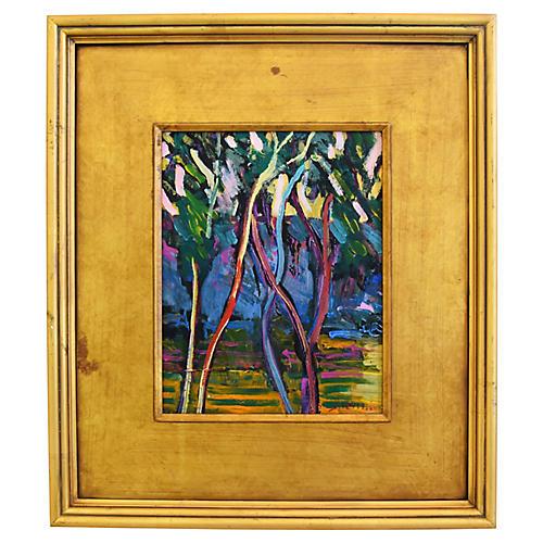 Juan Guzman Impressionist Ojai Landscape