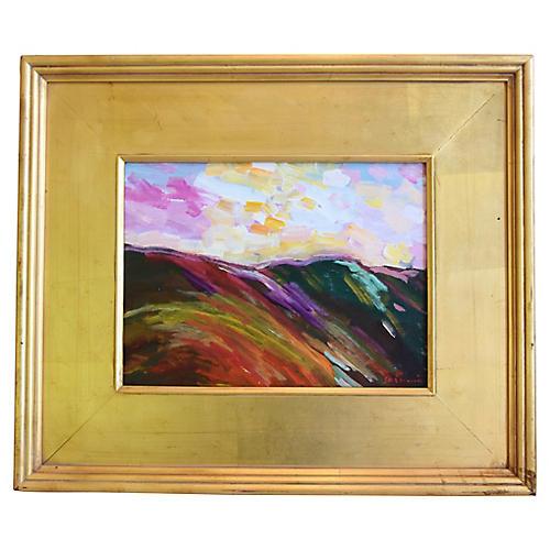 Ojai Landscape & Sunset by Juan Guzman