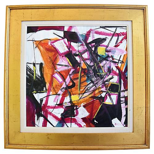 Juan Guzman, Abstract Painting