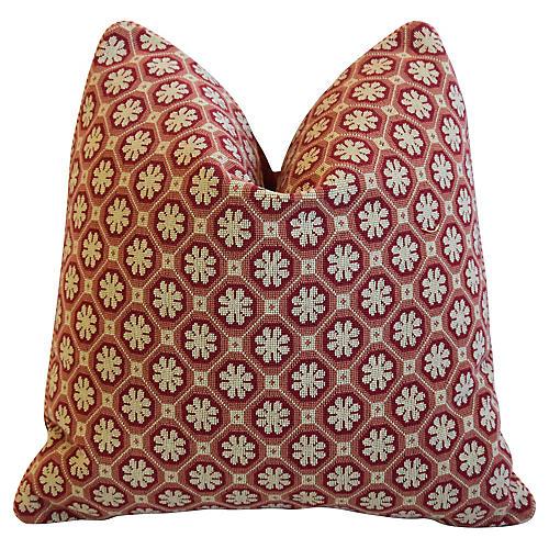Italian Scalamandré Colony Xi'an Pillow