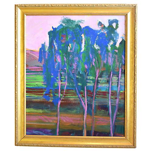 Juan Guzman Camarillo Landscape Painting