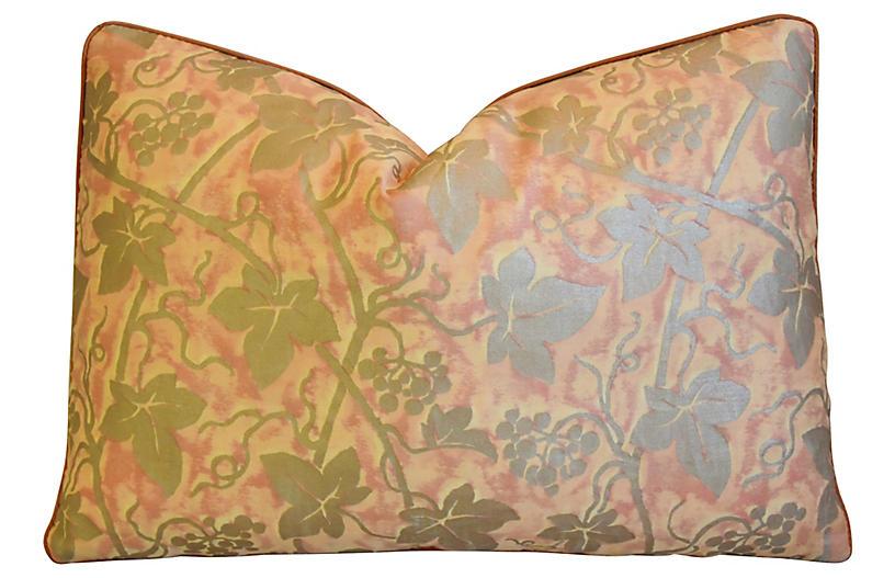 Italian Mariano Fortuny Edera Pillow