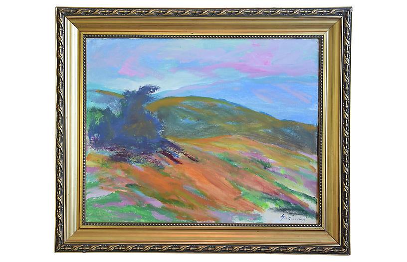 Juan Guzman Ojai Impressionist Landscape