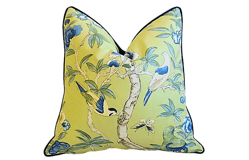 Thibaut Botanical & Birds Giselle Pillow