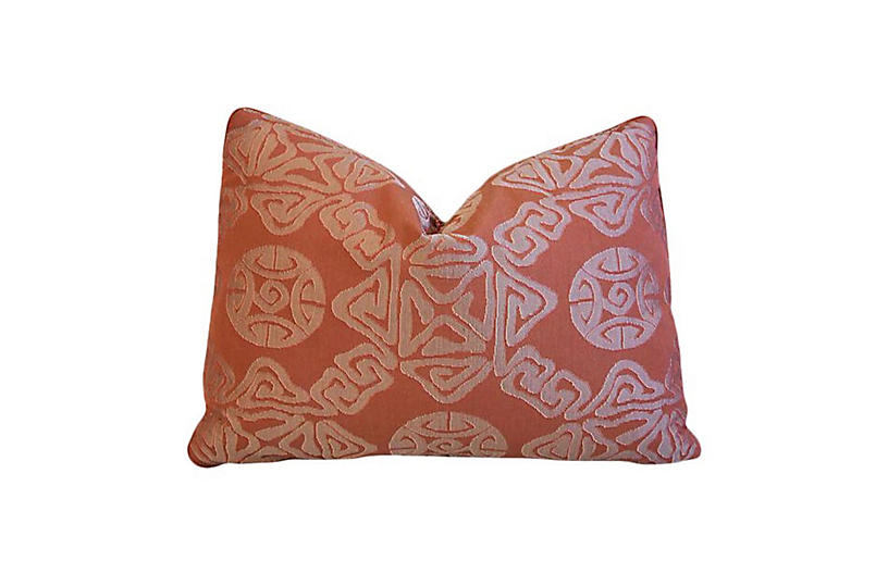 Donghia Asian Omen Medallion Pillow