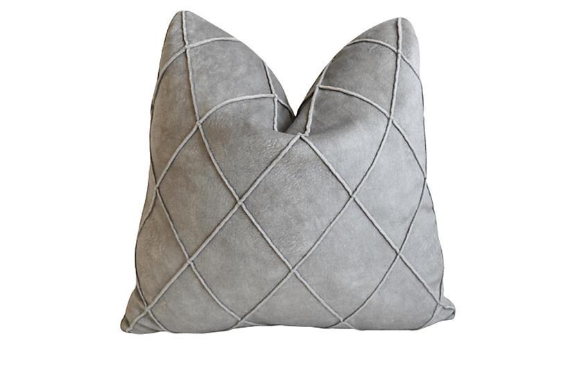 Osborne & Little Diamond Velvet Pillow