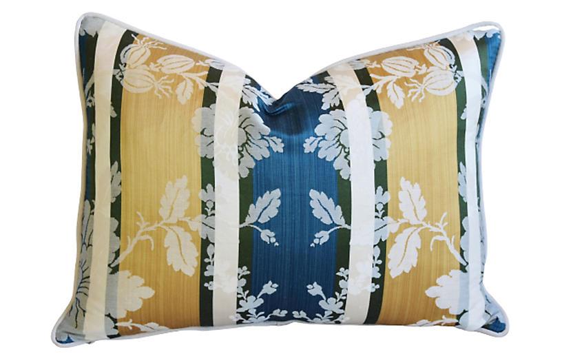 Clarence House Anjou Silk Fabric Pillow