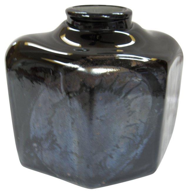 Amethyst Metallic  Glass Basin