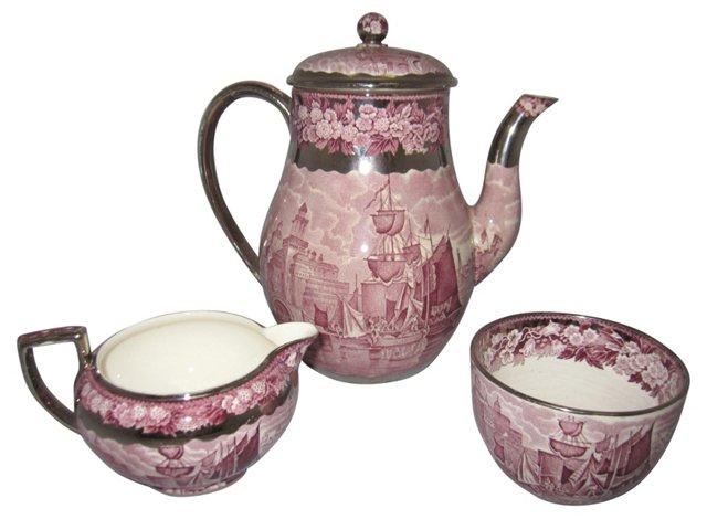 Wedgwood Tea Set, 3 Pcs