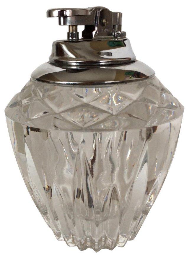 Lead Crystal Table Lighter