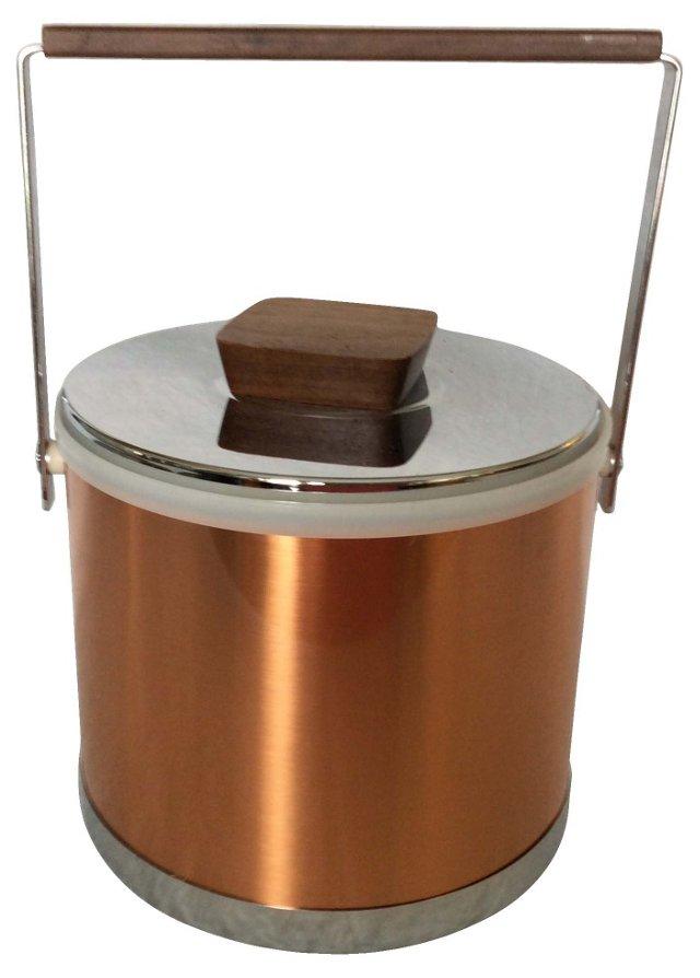 Midcentury Kromex Ice Bucket