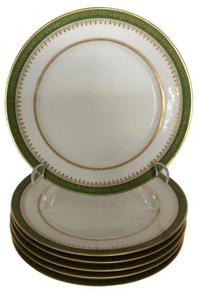 Limoges Plates,   S/6
