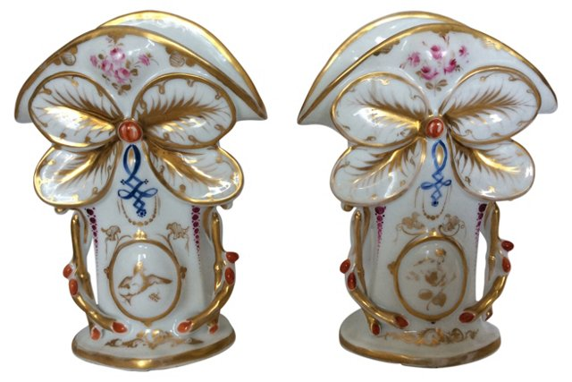 Parisian Vases, Pair