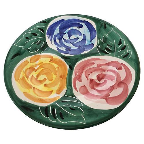 Colorful Deruta Plate
