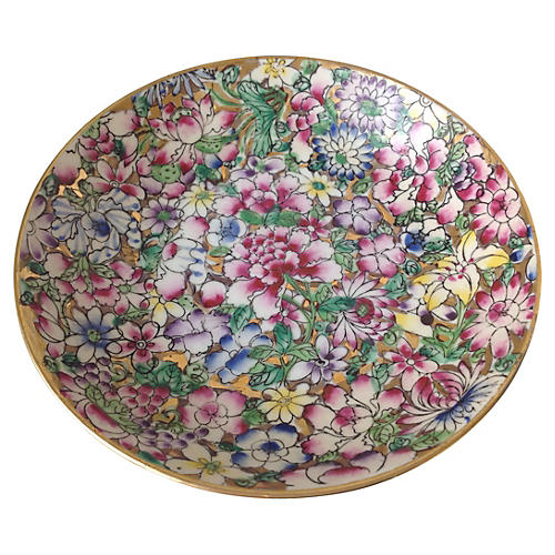 Chinoiserie Floral Bowl