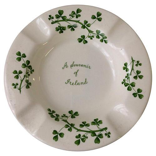 Republic of Ireland Souvenir Ashtray