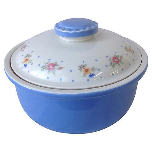 Midcentury Lidded Casserole Dish