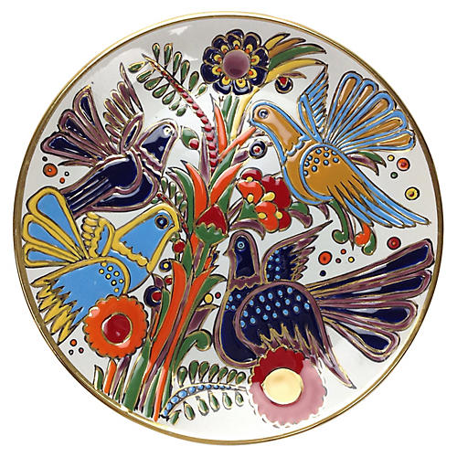 Greek Bird-Motif Plate