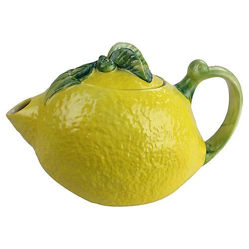 Italian Lemon Teapot