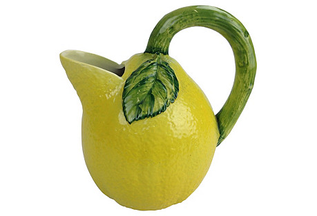 Lemons Mold Pitcher