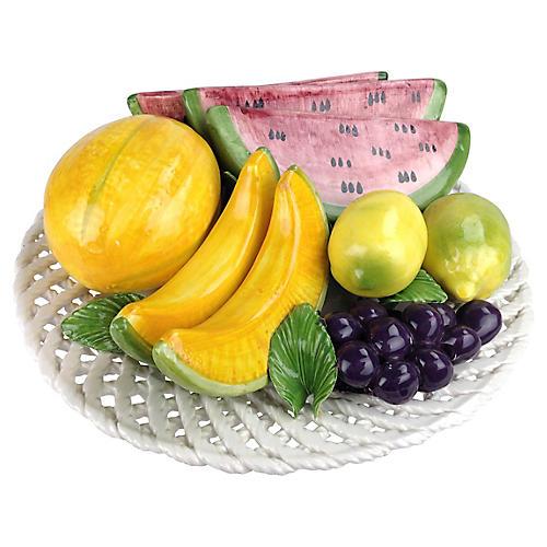 Italian Fruit Centerpiece