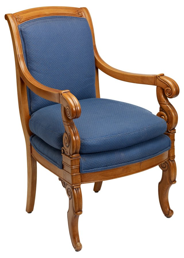 William Switzer Regency-Style Armchair