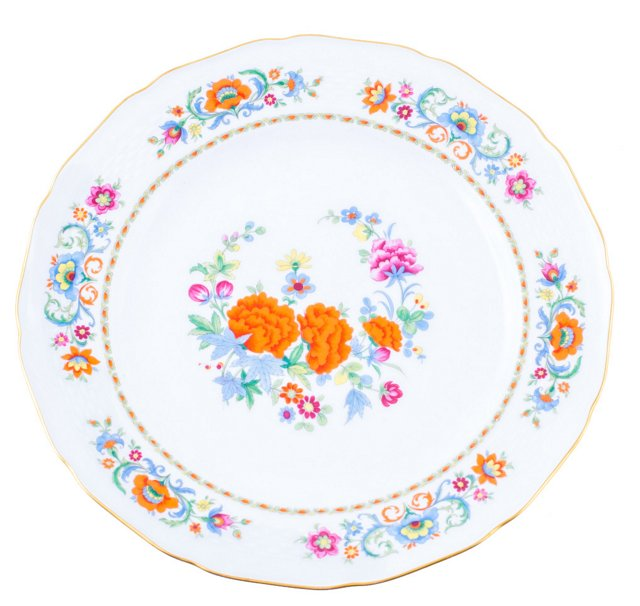 Floral Cake Plate
