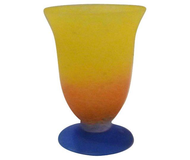 Handblown Venetian Vase