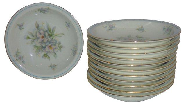 Meito Virginia Berry Bowls, Set of 12