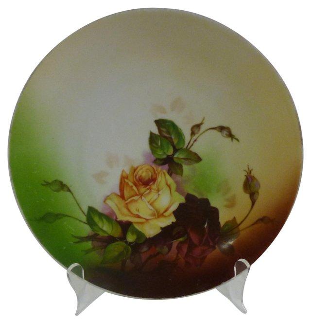 Bohemian Roses Plate