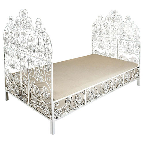 Iron Daybed w/ Cushion