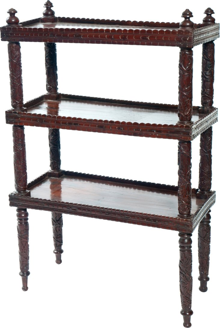 Anglo-Indian Mahogany Bookcase