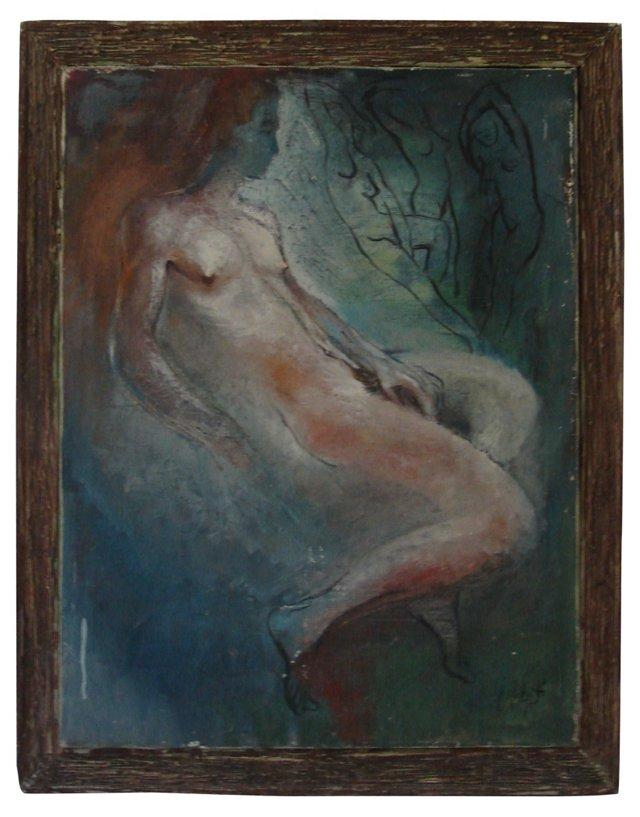 Nude Study,  1945