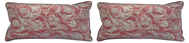 Fortuny   Pillows, Pair