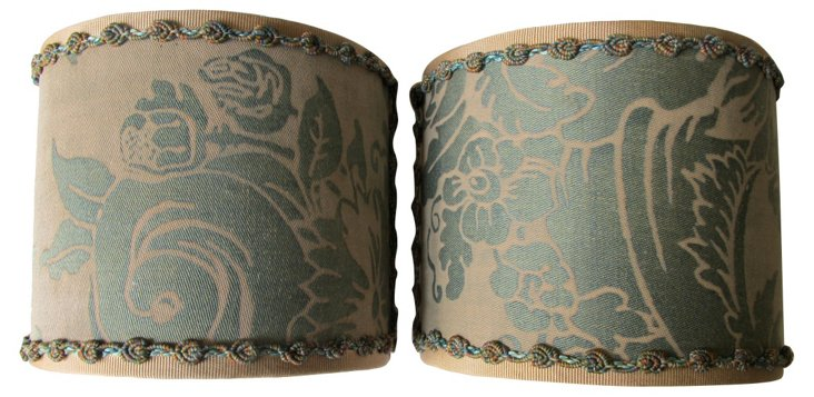 Fortuny Shield Shades, Pair