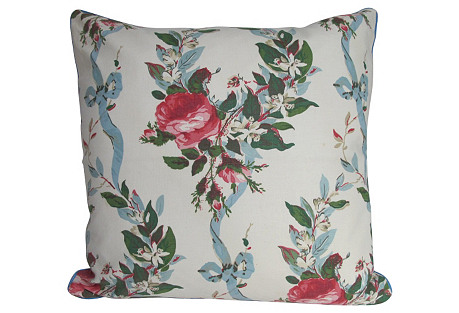 Floral Chintz Pillow