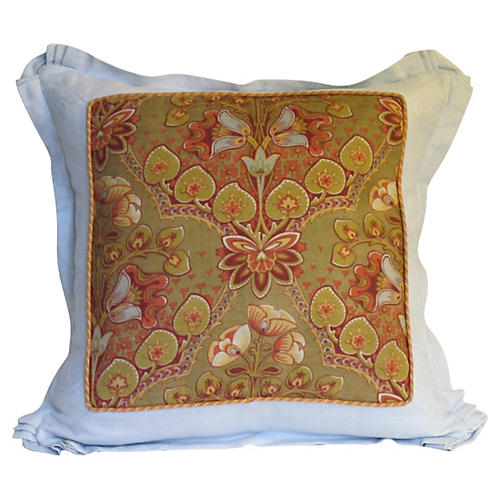 French Arts and Crafts Era Pillow