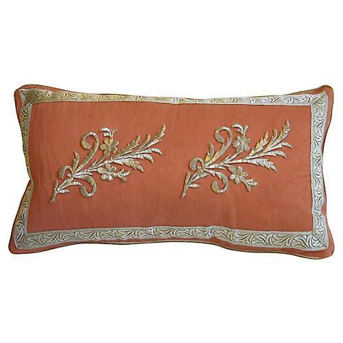 Ottoman Era Appliqué Pillow