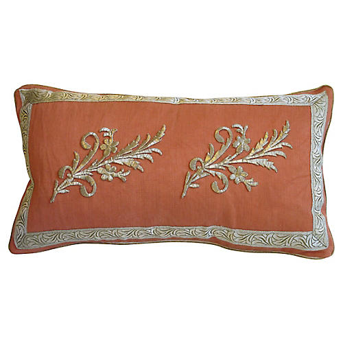 Ottoman Era Appliqué Pillow