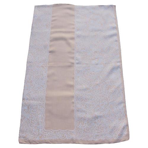 Linen Damask Tablecloth