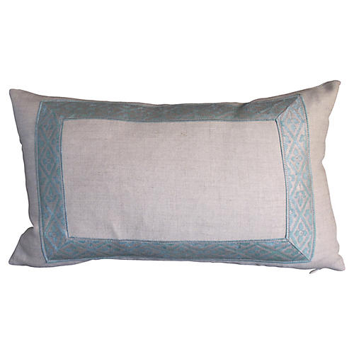 Fortuny Border Pillow