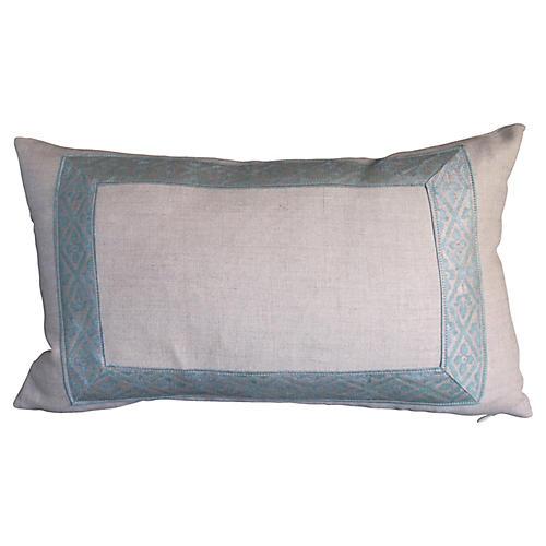 Fortuny Border Pillow