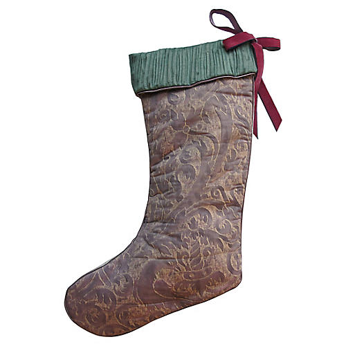 Vintage Fortuny Stocking