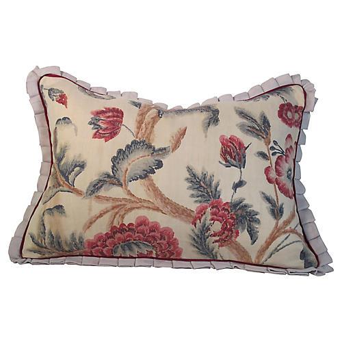 Floral Print Pillow