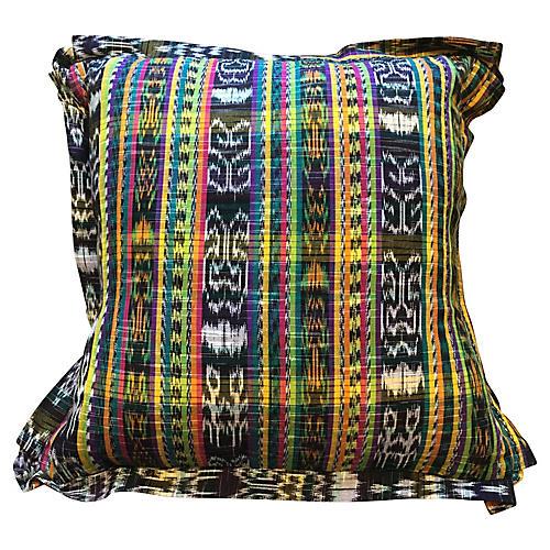 Guatemalan Textile Pillow