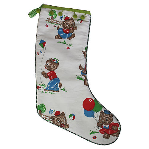 Children's Fabric Stocking