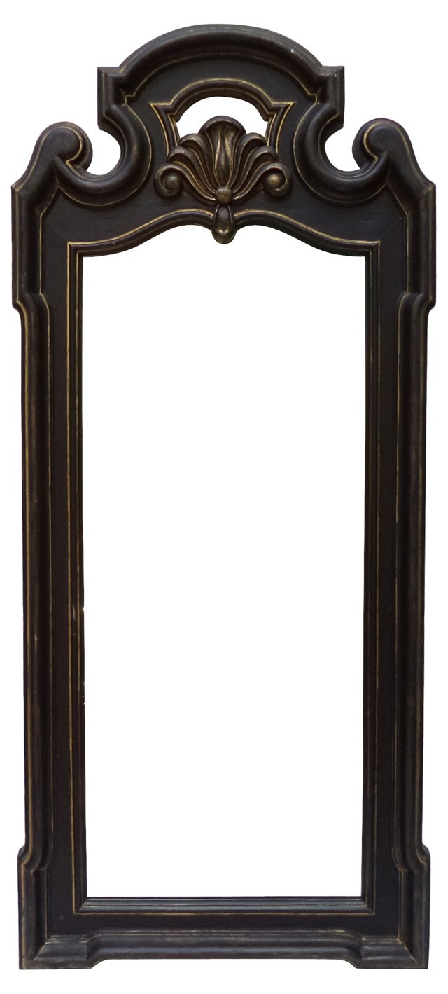 Black & Gold Dressing Mirror
