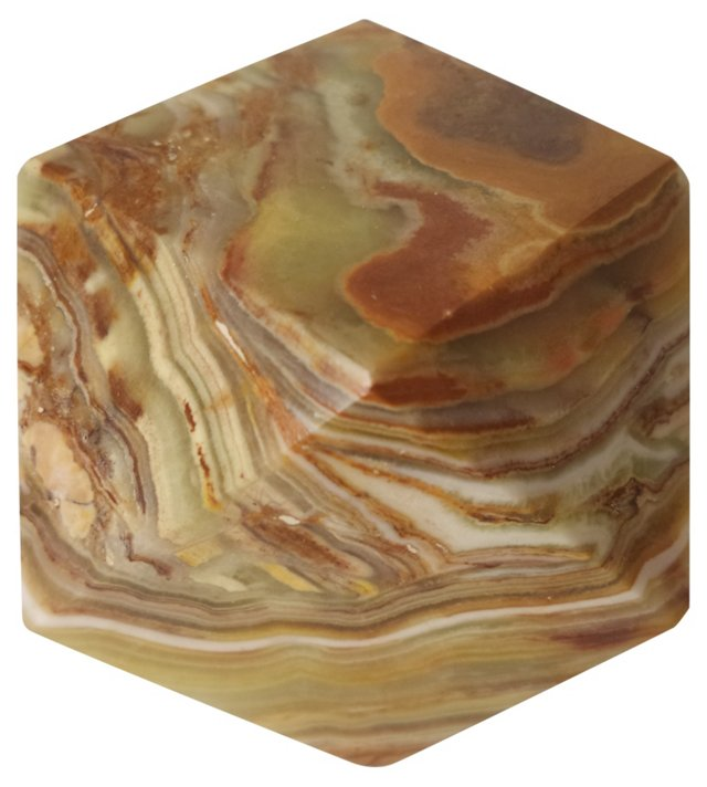 Polished Onyx Paperweight