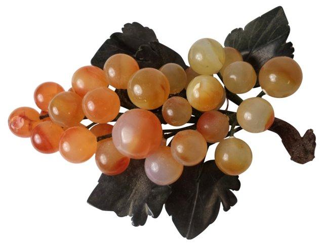 Citrine-Style Stone Grapes